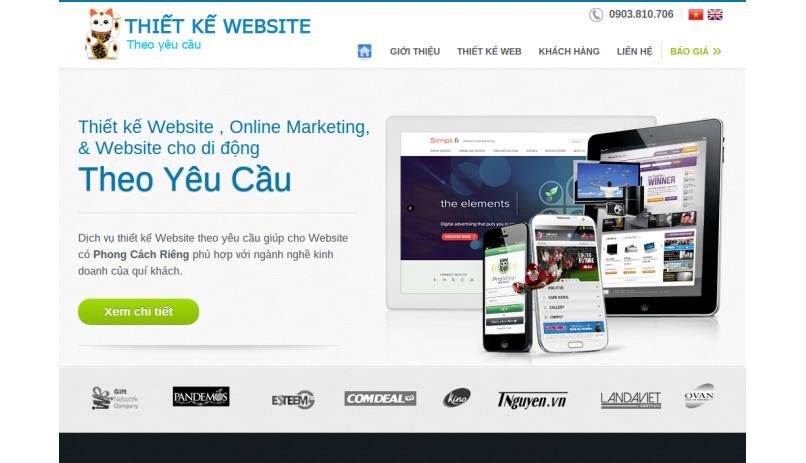 Thietkewebsitetheoyeucau.vn